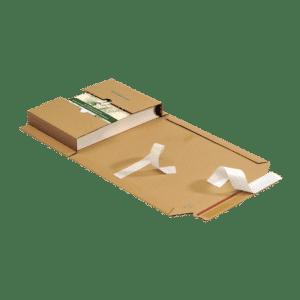 Boekverpakking 302 x 215 x 20-75