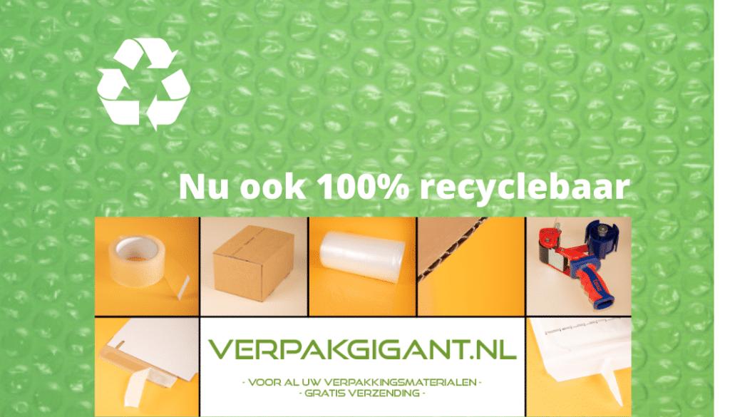 recyclebaar noppenfolie